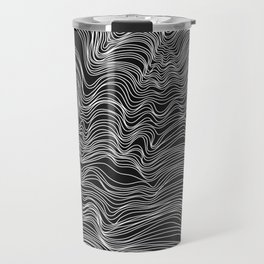 Dark Lines Travel Mug