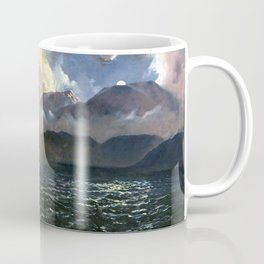 Kennett Watkins The Phantom Canoe-A Legend of Lake Tarawera Coffee Mug