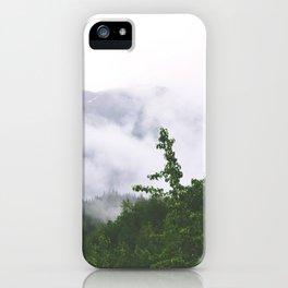 Juneau fog 3 iPhone Case