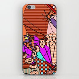 Colorful Shapes 2 iPhone Skin