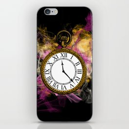 Time - Alice in Wonderland iPhone Skin