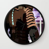 engineer Wall Clocks featuring The Engineer by sens