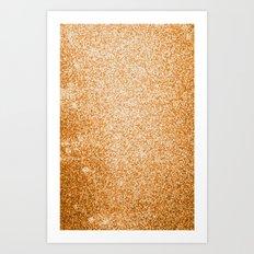 Metallic (Gold) Art Print