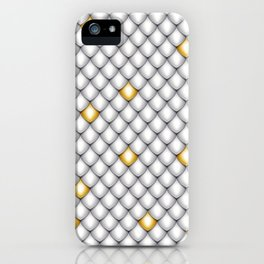 Fish Scale Pattern Design iPhone Case