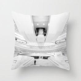 WTC Transportation Hub Oculus Throw Pillow