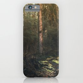 Olympic National Park - Pacific Northwest Nature Photography iPhone Case