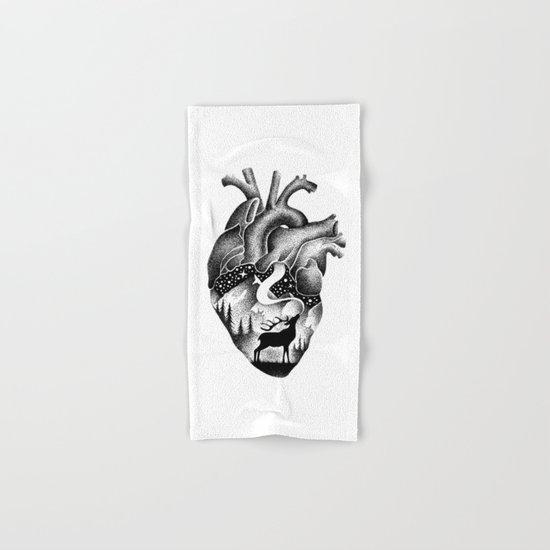 WILD HEART Hand & Bath Towel