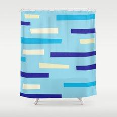 Light speed Shower Curtain