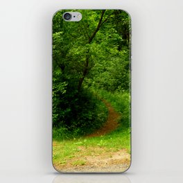 In to the Trail iPhone Skin