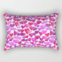 Valentine Day  romantic hearts Rectangular Pillow