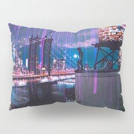 Lights above New York City Pillow Sham