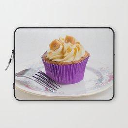 Banoffee Cupcake Laptop Sleeve