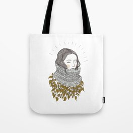 Keep the Cold Out Illustration Tote Bag