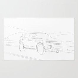 Range Rover Evoque Rug