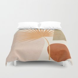 Tropical Leaf- Abstract Art 49a Duvet Cover