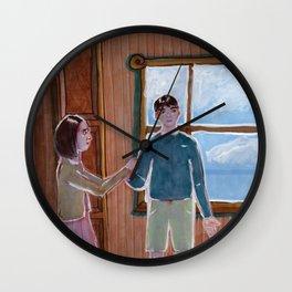 Edmund's lies Wall Clock