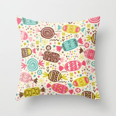 Sweeties Throw Pillow