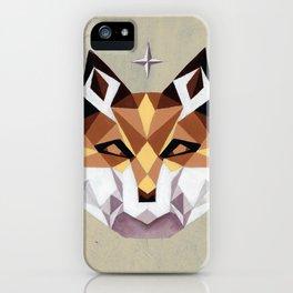 Geometric Fox iPhone Case