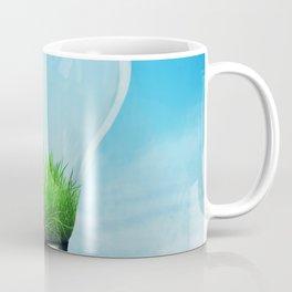 Save Green Concept Coffee Mug