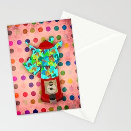 Gumball Unicorns Stationery Cards