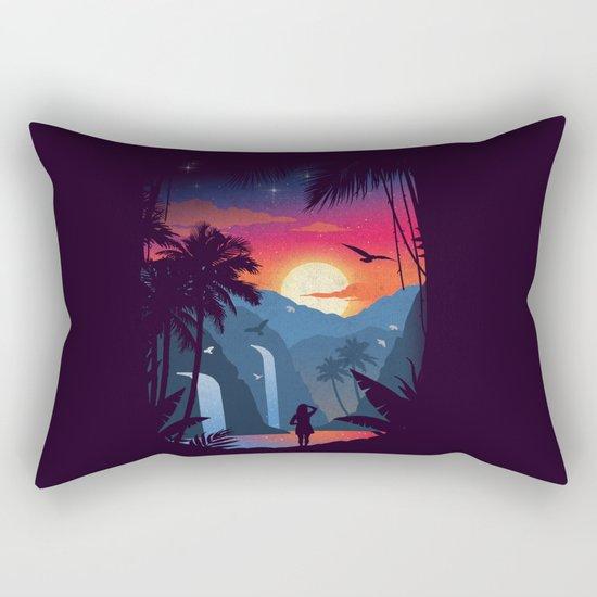 Cascades Rectangular Pillow