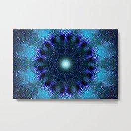 Star Factory (blue) Metal Print