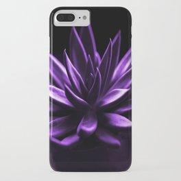 Succulent Plant In Purple Color #decor #society6 #homedecor iPhone Case