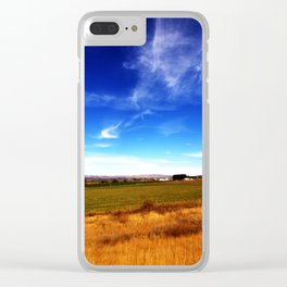 Thall Road in a Parallel Dimension Clear iPhone Case
