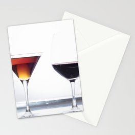 Silver Platter Libations Stationery Cards