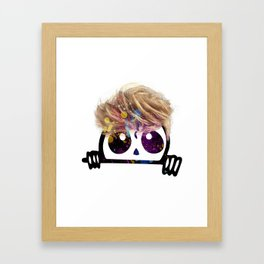 Mr. Shy Framed Art Print