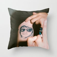 Joe. Throw Pillow