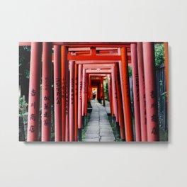 Torii Tunnel Metal Print