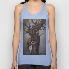 I love you, Old Tree! Unisex Tank Top