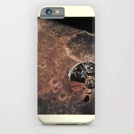apollo x photo taken from the lem vintage Poster iPhone Case