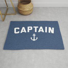Captain Nautical Quote Rug