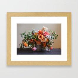 Flower Design 8 Framed Art Print