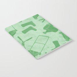GARDEN TOOL KIT PATTERN Notebook