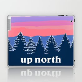 up north, pink hues Laptop & iPad Skin