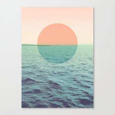 Because the ocean Canvas Print