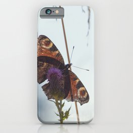 Mountain Butterfly iPhone Case
