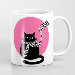 """""""Cat and fashion"""" by Qora & Shaï Coffee Mug"""