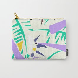 Memphis banana leaves Carry-All Pouch