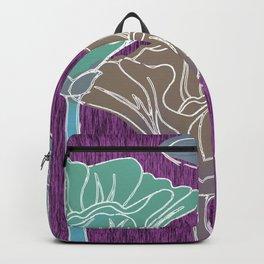 Looking Up on Purple Grain Backpack
