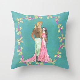 Sweet Nectar of Love Throw Pillow