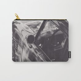 Triumph spitfire, black & white photography, Peter Lindbergh style, english sports car Carry-All Pouch