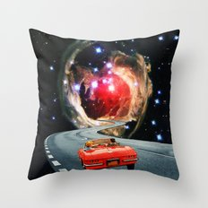 Naive Honeymooners Throw Pillow