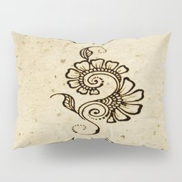 Henna Inspired 4 Pillow Sham