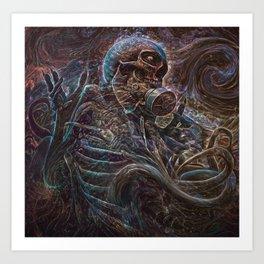 Vanishment Of Self Art Print