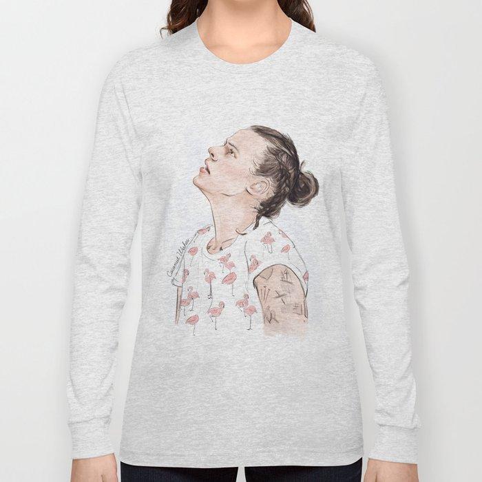 Harry Flamingo Long Sleeve T-shirt
