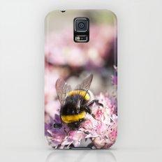 Bumblebee On Stonecrop – Hummel auf Fetthenne Slim Case Galaxy S5